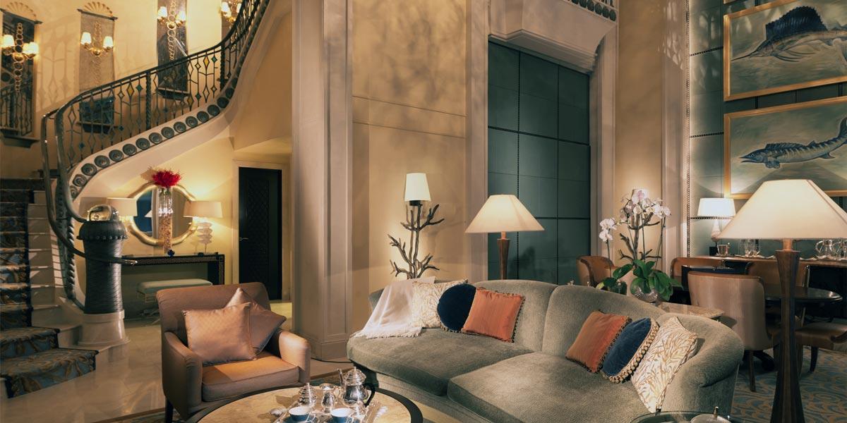 Lost Chambers Suite Lounge, Atlantis The Palm, Prestigious Venues, Dubai
