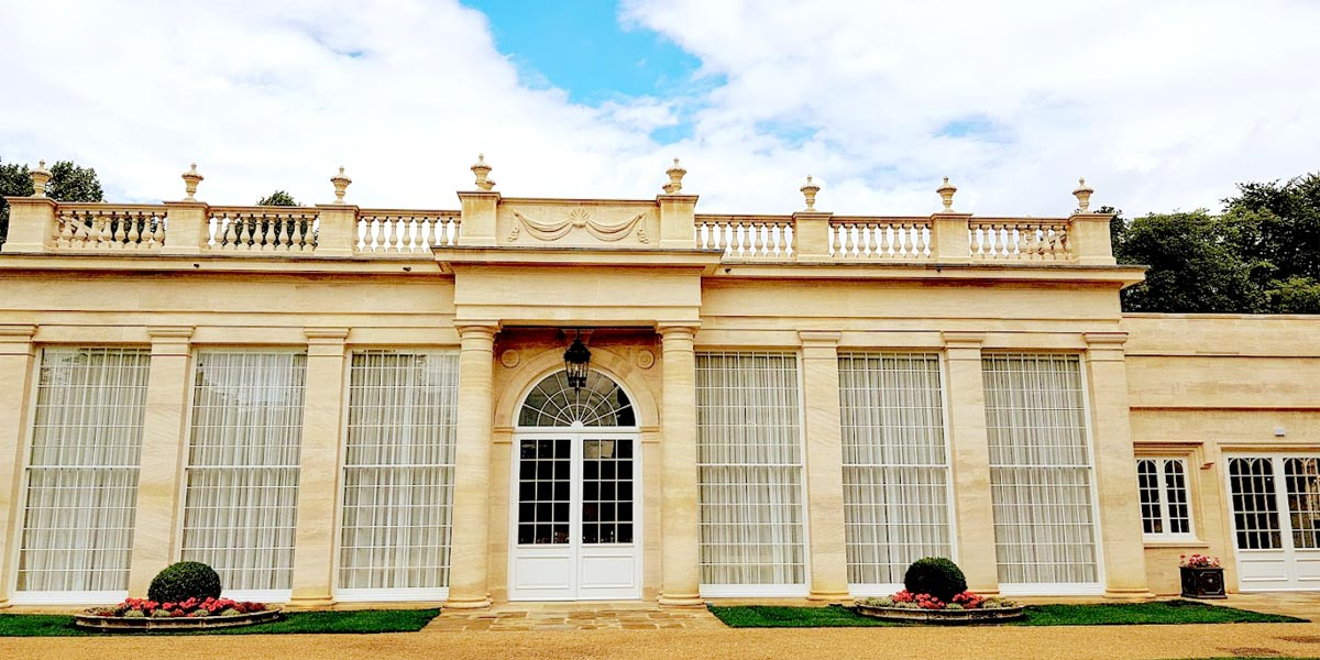 The Orangery Outdoor, Rushton Hall Hotel And Spa, Prestigious Venues