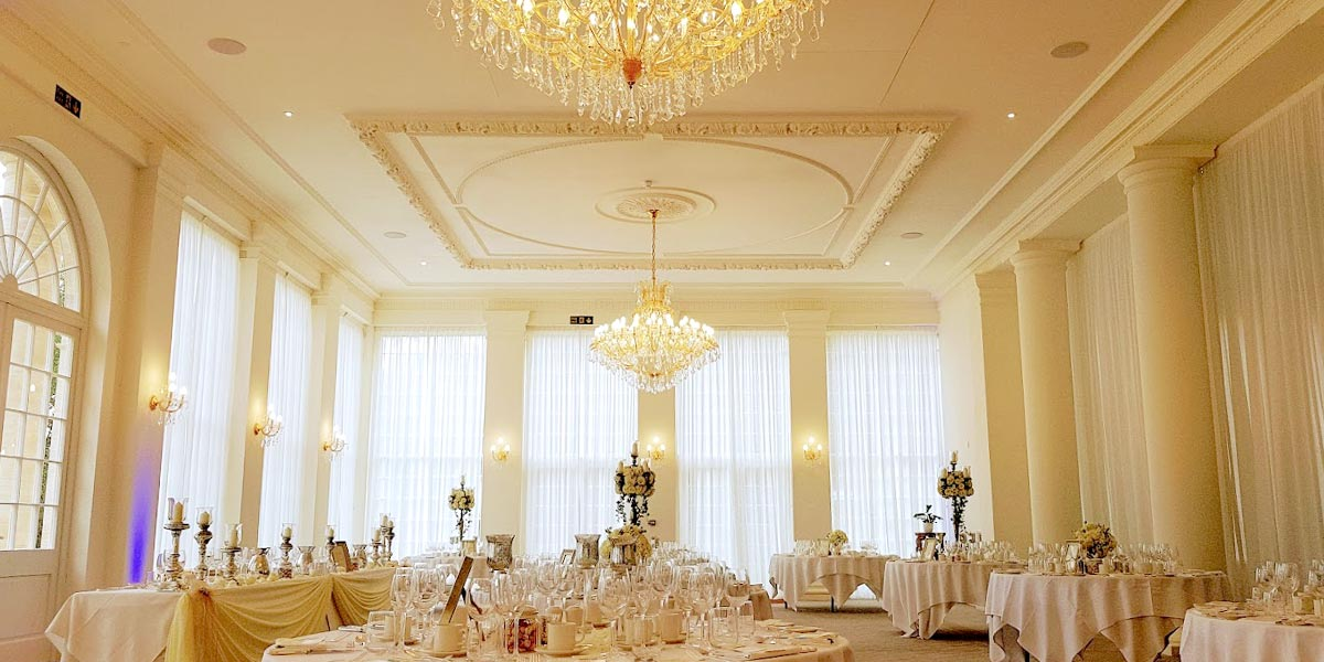 Wedding Setup, Rushton Hall Hotel And Spa, Prestigious Venues
