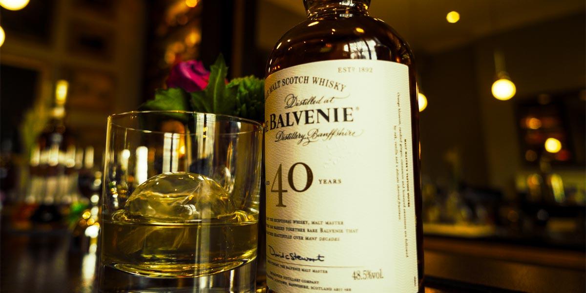 Balvenie 40 YO, The Hyde Bar, The Royal Park Hotel, Prestigious Venues