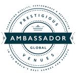 GLOBAL AMBASSADOR, PRESTIGIOUS VENUES, 150px