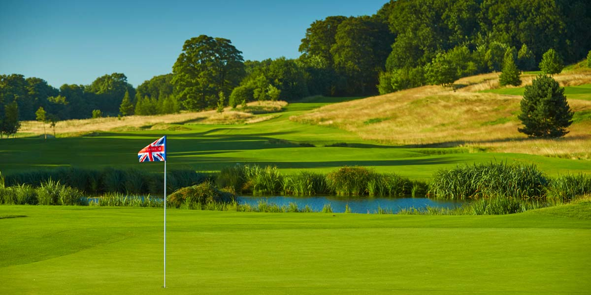 Golf Course With Water Feature, The Grove, Prestigious Venues