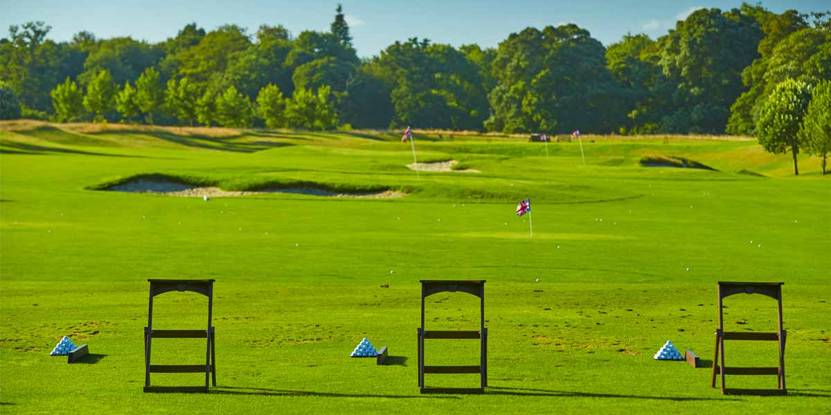 Golf Course For Corporate Golf Days, Golf Driving Range, The Grove, Prestigious Venues