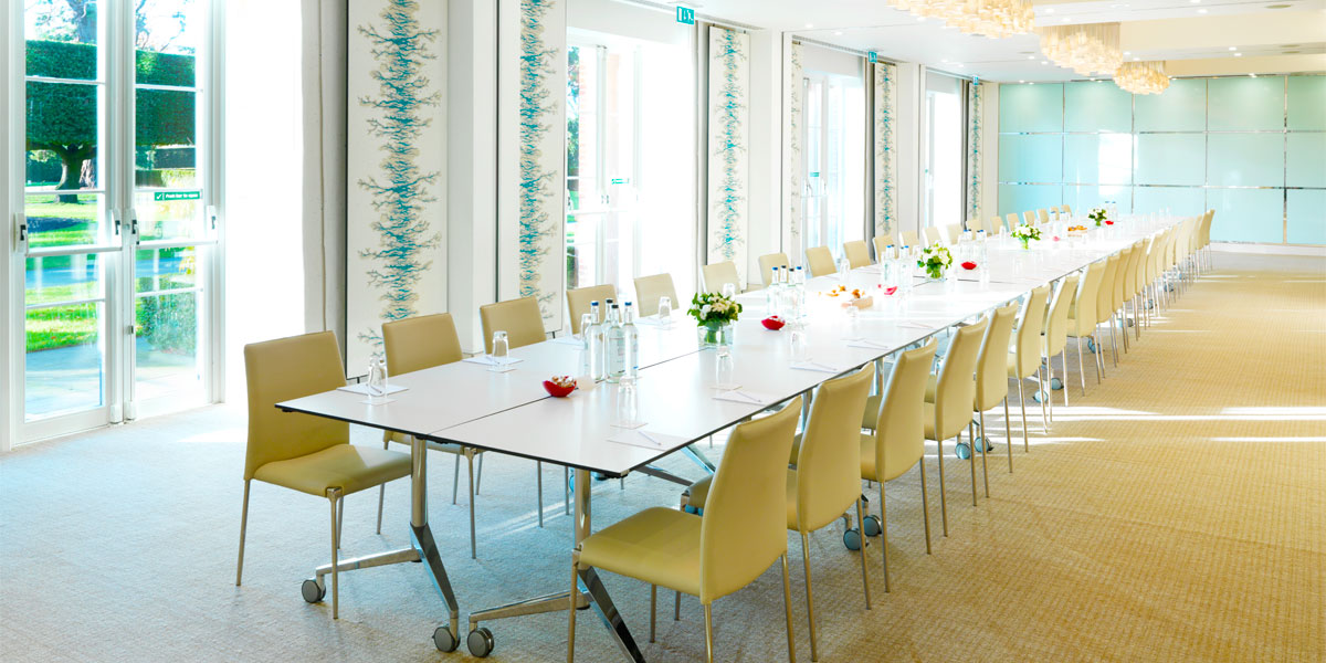 Meeting Venue Outside London in the Ivory Suite, The Grove, Prestigious Venues