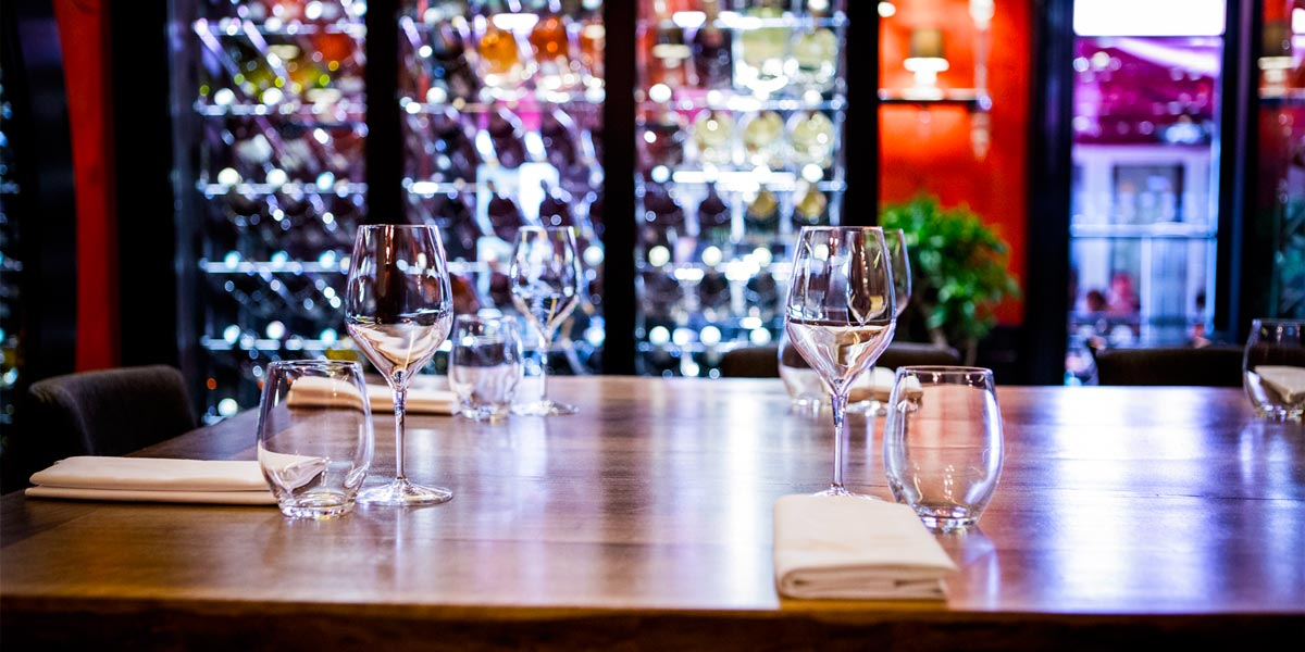 Dinner Set Up in the Wine Room, Buddha Bar Hotel Paris, Prestigious Venues