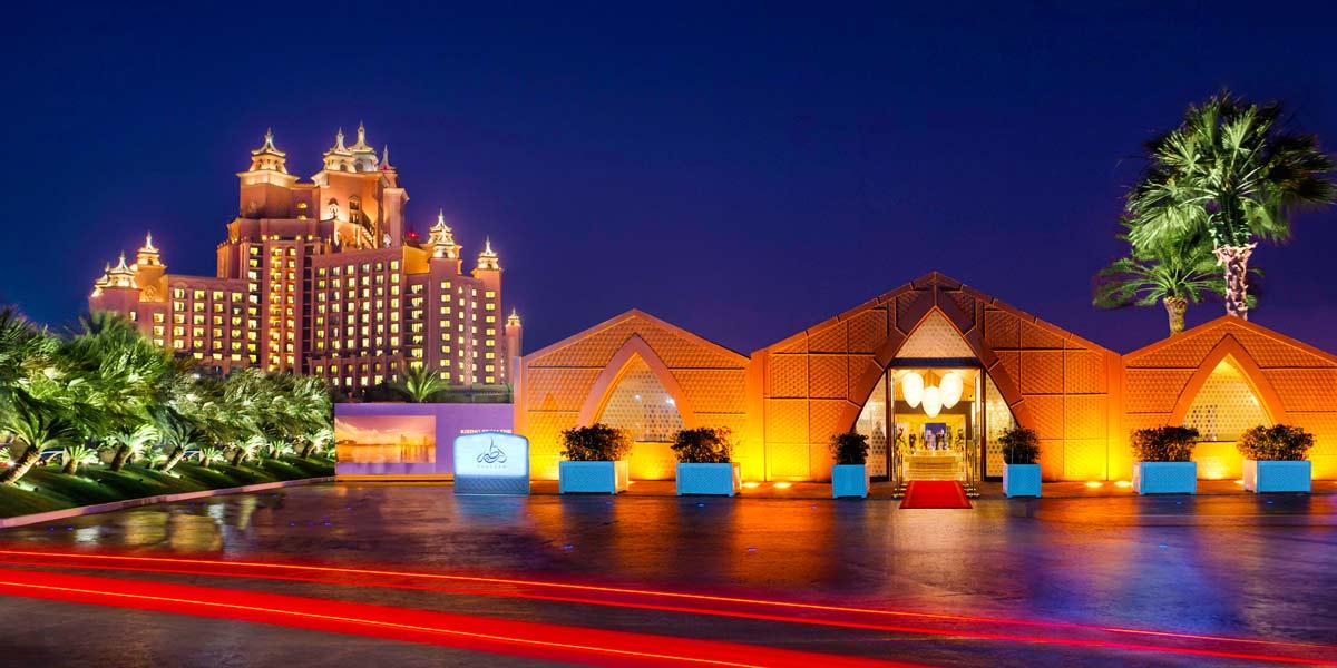 Large Dinner Venue Dubai Marina, Atlantis The Palm, Prestigious Venues
