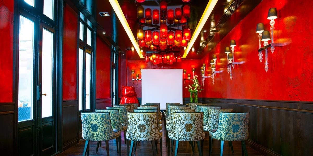 Lotus Lounge Meeting Room, Buddha Bar Hotel Paris, Prestigious Venues
