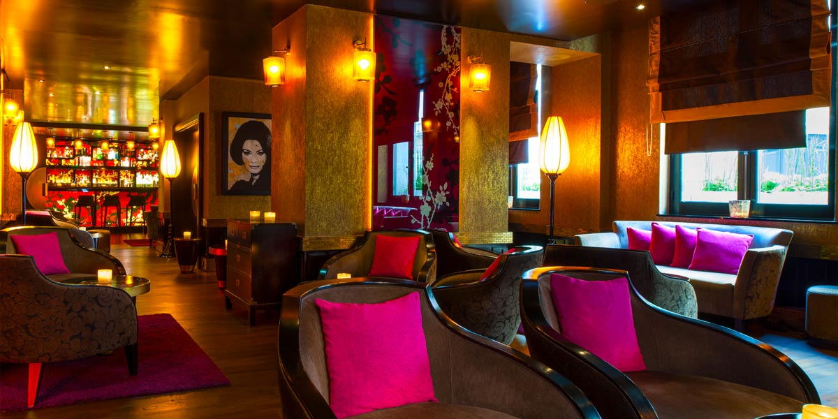 Lounge Bar Le Qu4tre at Buddha Bar Hotel Paris