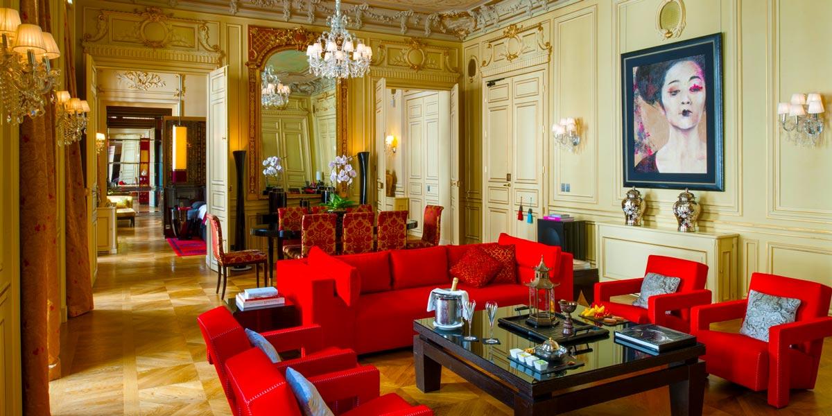 The Gagny Suite at Buddha Bar Hotel Paris