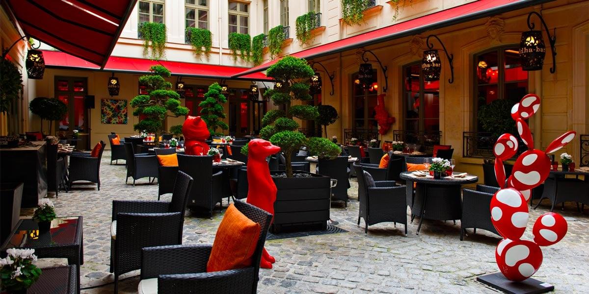 Outdoor Event Space in Paris, Buddha Bar Hotel Paris, Prestigious Venues