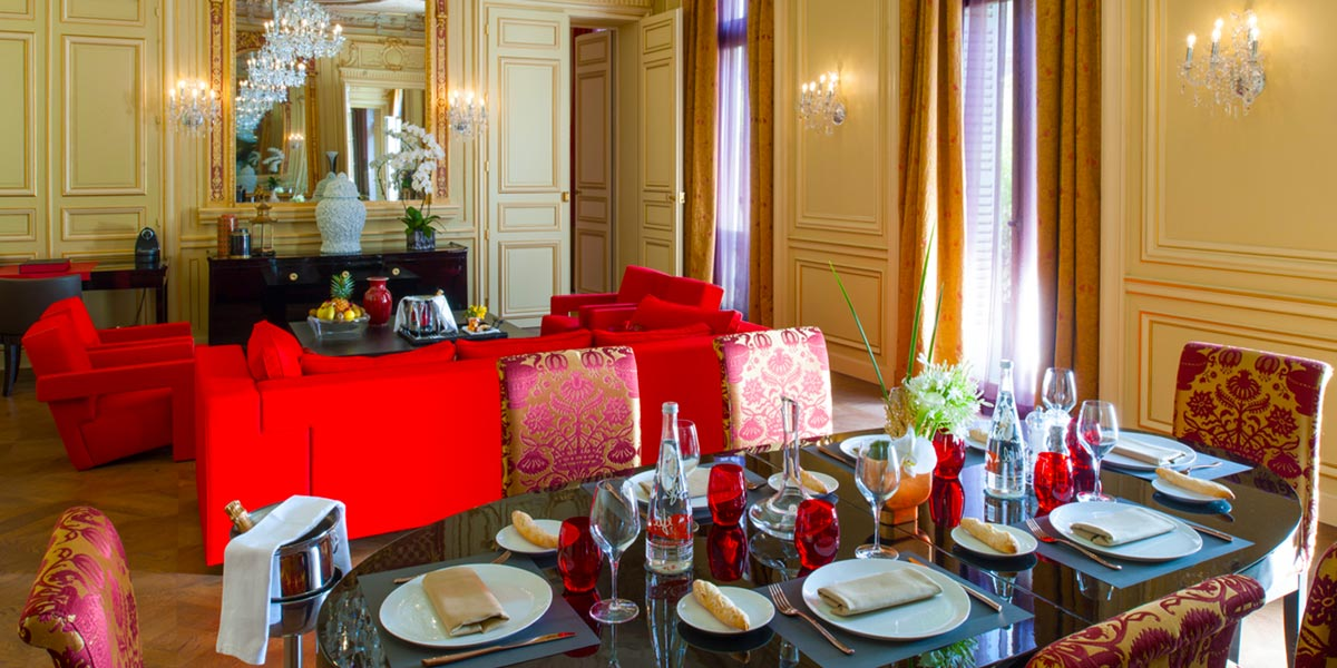 Private Dinner in The Gagny Suite, Buddha Bar Hotel Paris, Prestigious Venues
