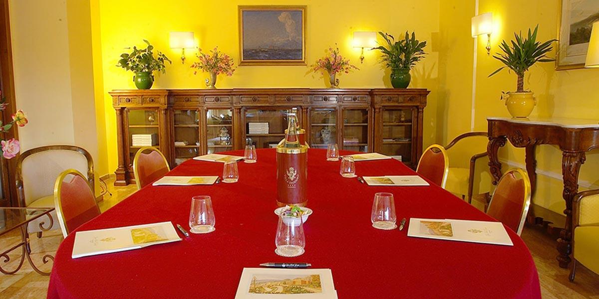 Board Room, Hotel Villa Diodoro, Prestigious Venues