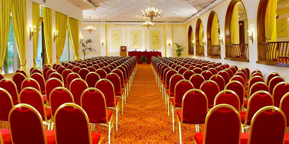 Conference Venue In Taormina, Theatre Style, Congressi, Hotel Villa Diodoro, Prestigious Venues