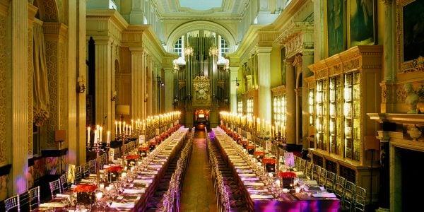 Gala Dinner Venue, Long Library Gala Dinner Venue, Blenheim Palace, Prestigious Venues