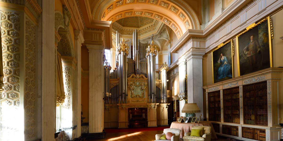 Long Library Reception Venue, Blenheim Palace, Prestigious Venues