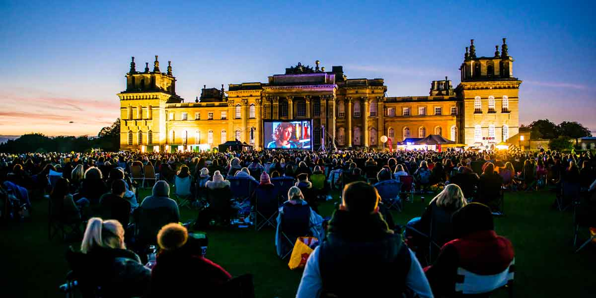 Luna Outdoor Cinema, Blenheim Palace, Prestigious Venues