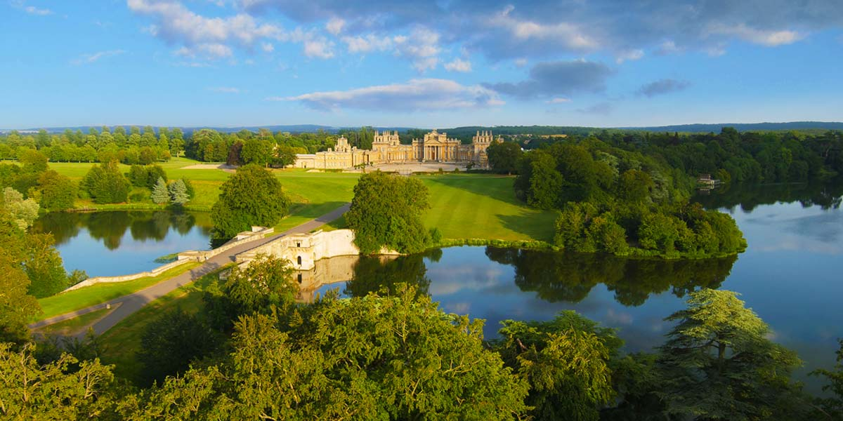 North Front and Great Lake, Blenheim Palace, Prestigious Venues