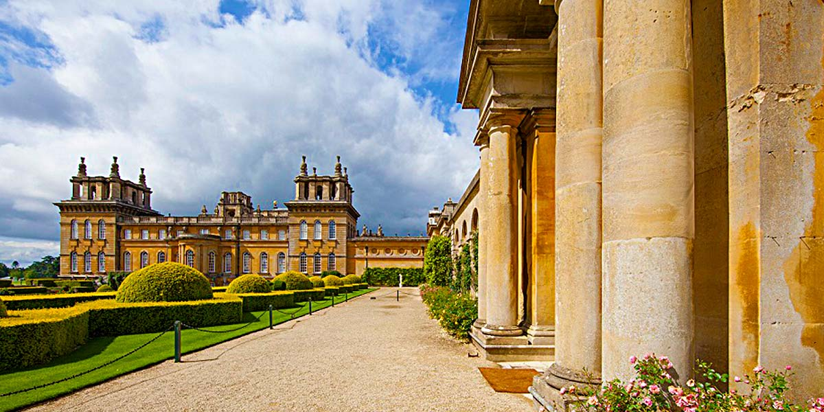 Terrace For Receptions, Blenheim Palace, Prestigious Venues