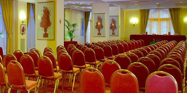 Theatre Style Room, Congressi, Hotel Villa Diodoro, Prestigious Venues