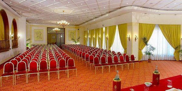 Theatre Style Setup, Congressi, Hotel Villa Diodoro, Prestigious Venues