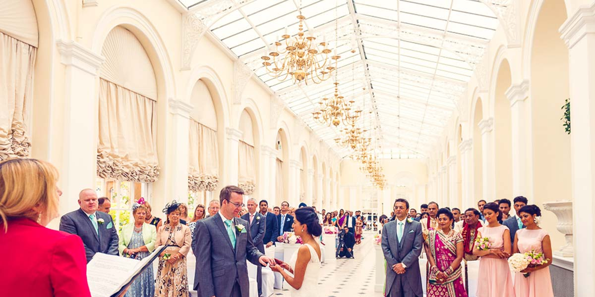 Wedding Ceremony, Blenheim Palace, Prestigious Venues