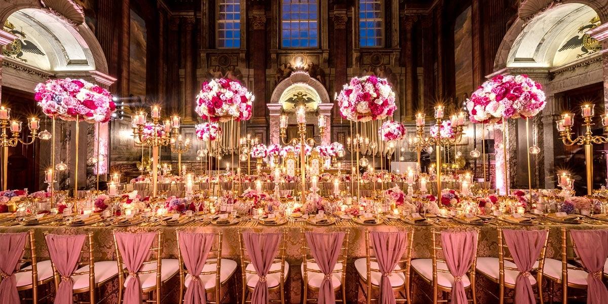 Wedding Venue Setup, Blenheim Palace, Prestigious Venues