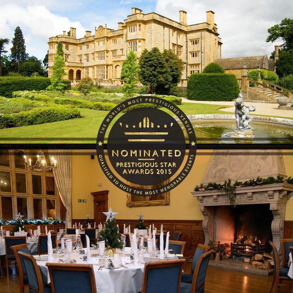 Most Prestigious Film Location Venue, Eynsham Hall, Prestigious Star Awards 2015