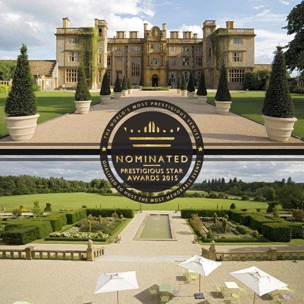 Most Prestigious Romantic Venue, Eynsham Hall, Prestigious Star Awards 2015