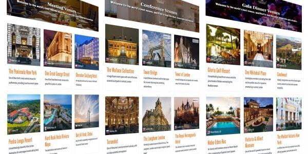 Premium Hospitality News, Prestigious Venues