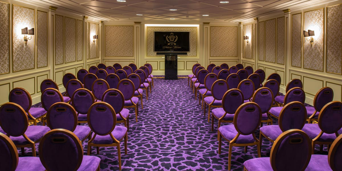 Meeting Rooms at Palazzo Versace Dubai