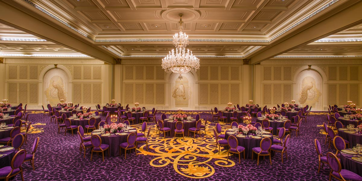 Gala Ballroom at Palazzo Versace Dubai