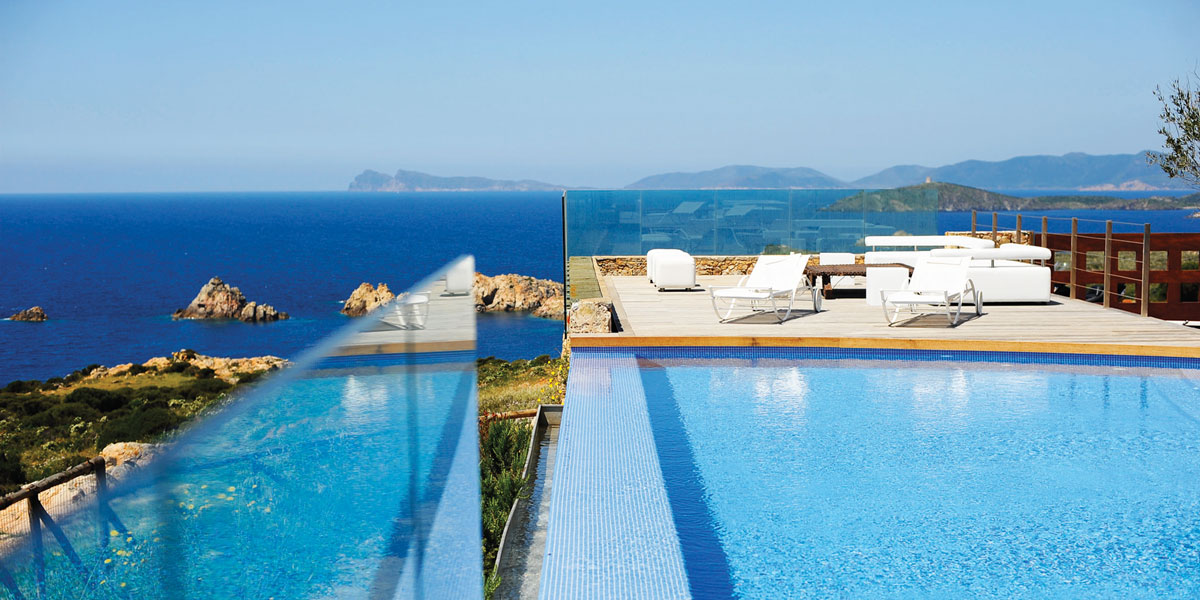 Infinity Pool with Sea View, Faro Capo Spartivento, Prestigious Venues