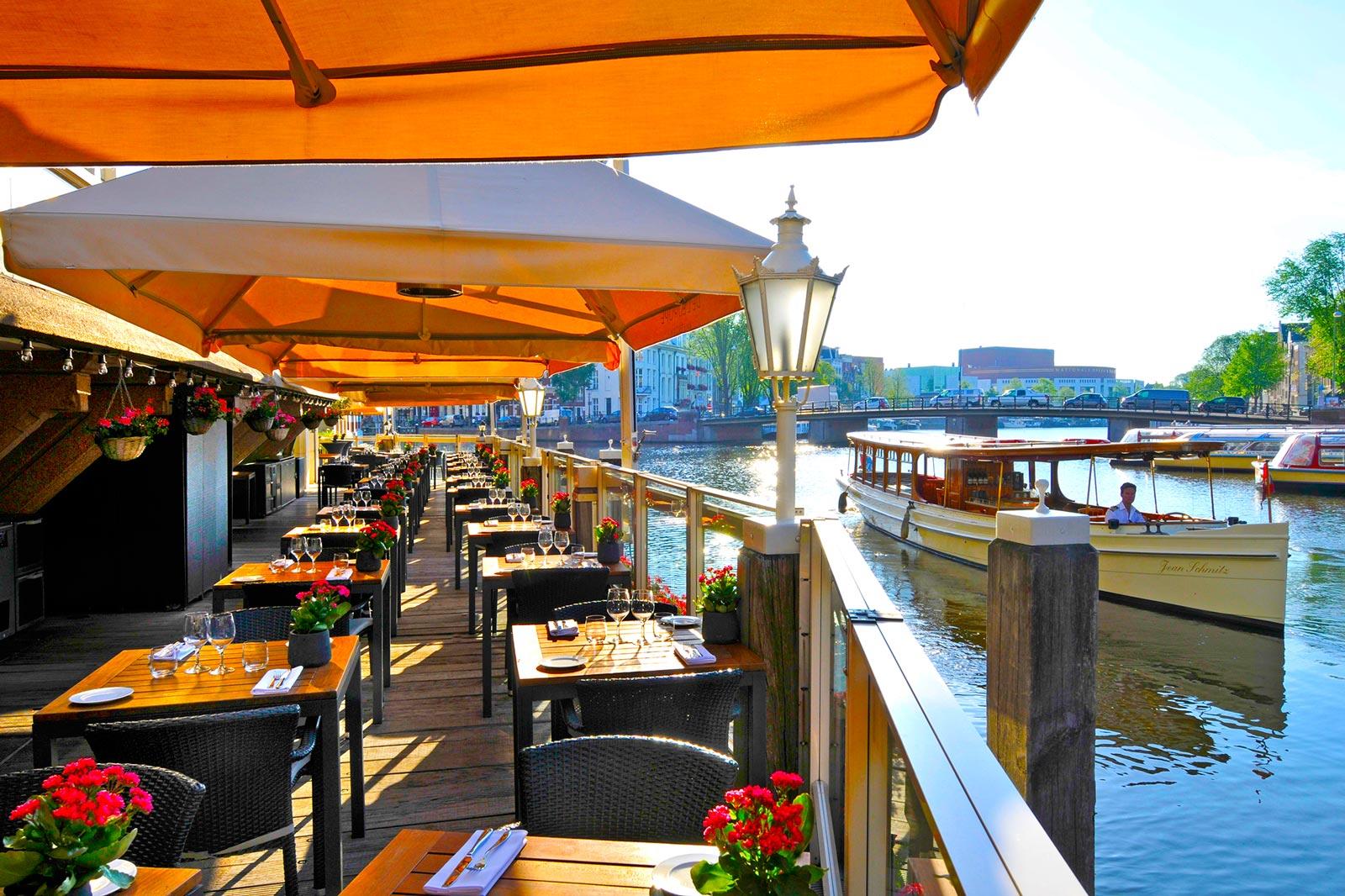 Outdoor Terrace, De L'Europe Amsterdam, Prestigious Venues, 1600px