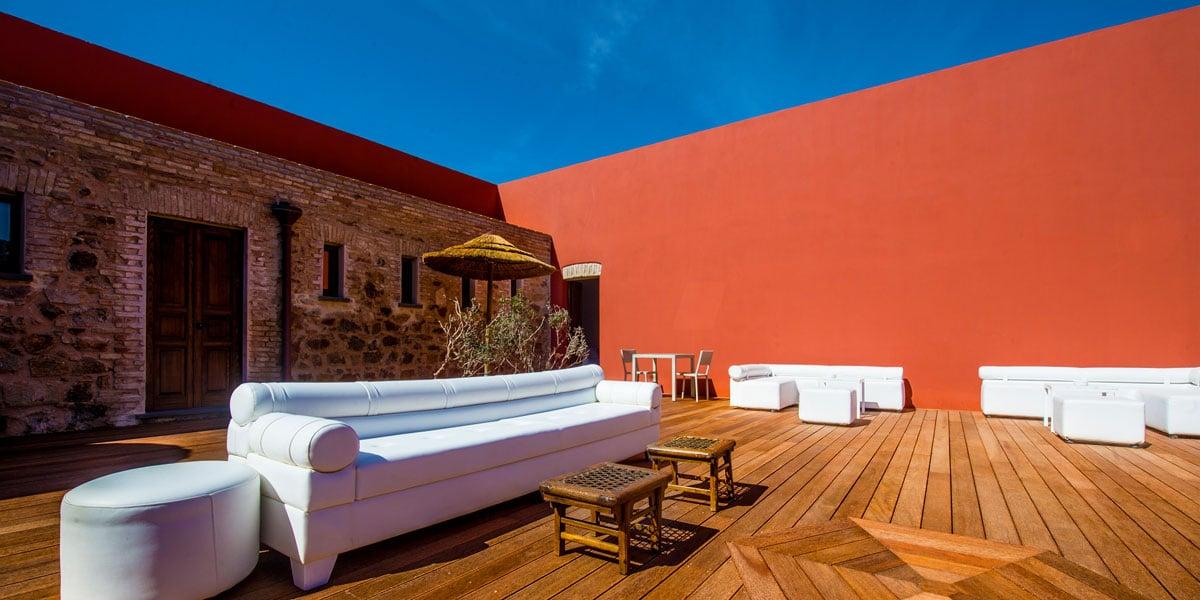 Reception Terrace, Faro Capo Spartivento, Prestigious Venues