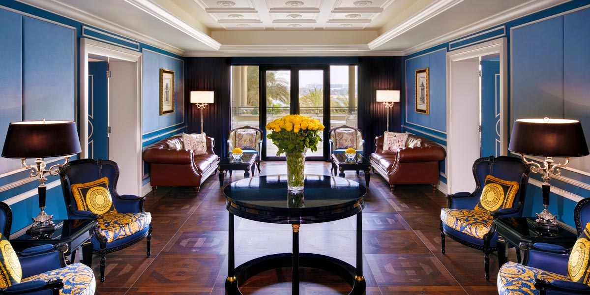 Business Centre Lobby, Palazzo Versace Dubai, Prestigious Venues
