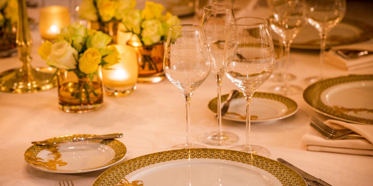 Pre function Setup, Palazzo Versace Dubai, Prestigious Venues