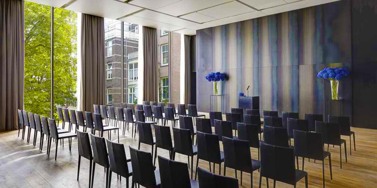 Conference Venue in Amsterdam, Event Spaces in Amsterdam, Symphony Room, Conservatorium Hotel, Prestigious Venues