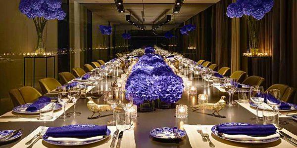 Corporate Event Space, Gala Dinner Venue, Blue Room, Conservatorium Hotel, Prestigious Venues