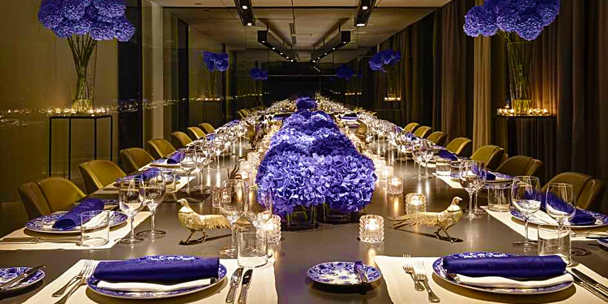 The Blue Room at Conservatorium Hotel