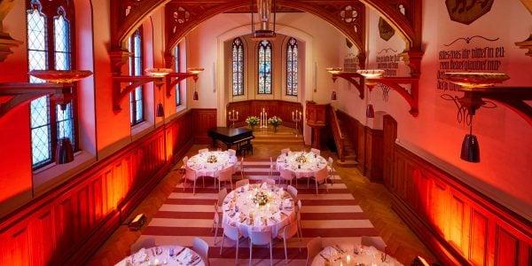 Gala Dinner Venue, The Chapel, Hard Rock Hotel Davos, Prestigious Venues