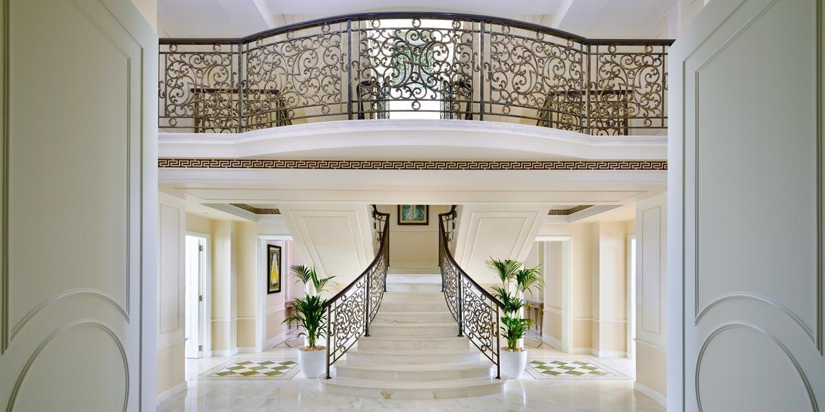 Imperial Suite Entrance, Palazzo Versace Dubai, Prestigious Venues