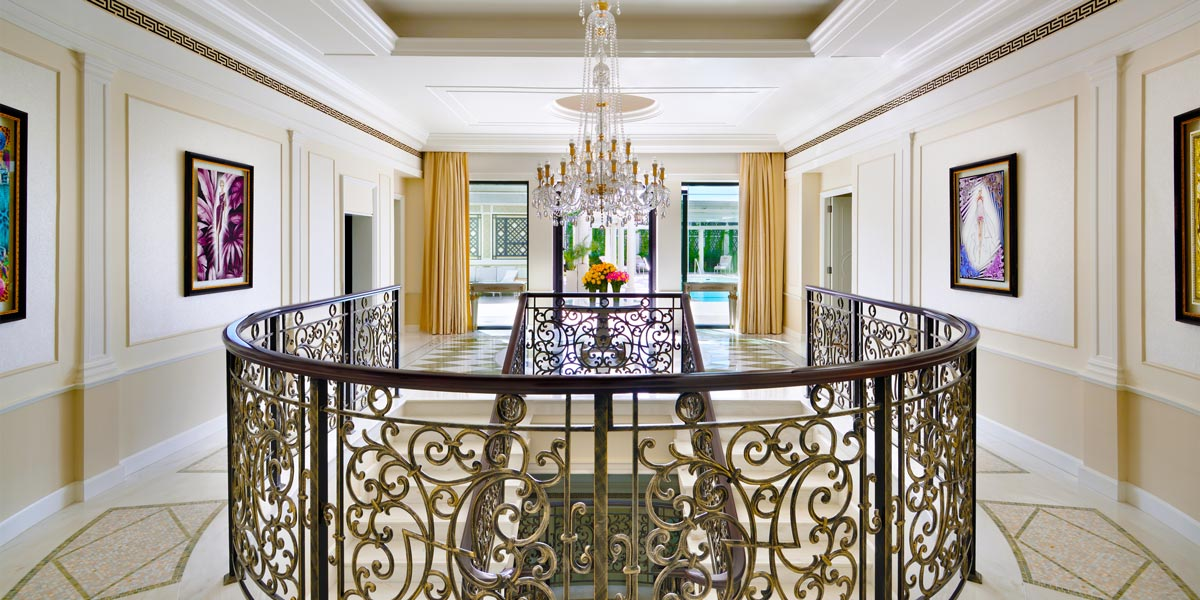 Imperial Suite Foyer Entrance, Palazzo Versace Dubai, Prestigious Venues