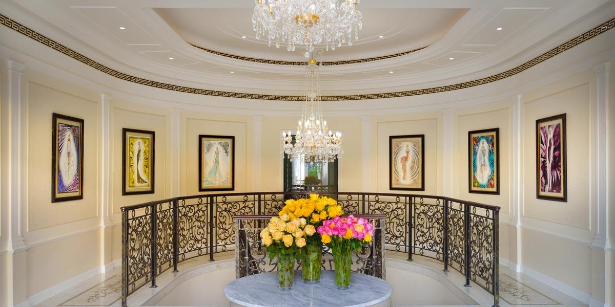 Imperial Suite Foyer, Palazzo Versace Dubai, Prestigious Venues