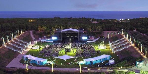 Outdoor Arena, Forte Village Resort, Prestigious Venues,