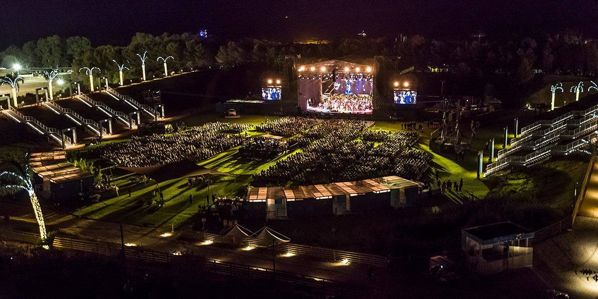 Outdoor Concert Venue, Forte Village Resort, Prestigious Venues