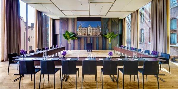 Conference Venue, Event Spaces in Amsterdam, Presentation Venue, Symphony Room, Conservatorium Hotel, Prestigious Venues