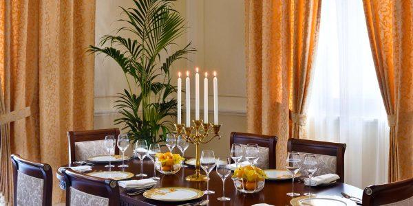 Signature Dining Area, Signature Suites, Palazzo Versace Dubai, Prestigious Venues