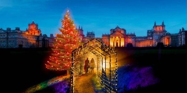 Christmas Party Venues Around The World, Christmas Lights Trail, Blenheim Palace, Prestigious Venues