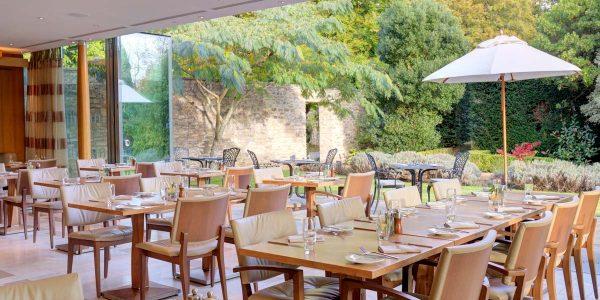 Alfresco Dining Venue, Lucknam Park Hotel & Spa