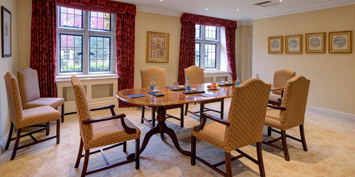 The Boardroom at Lucknam Park Hotel & Spa